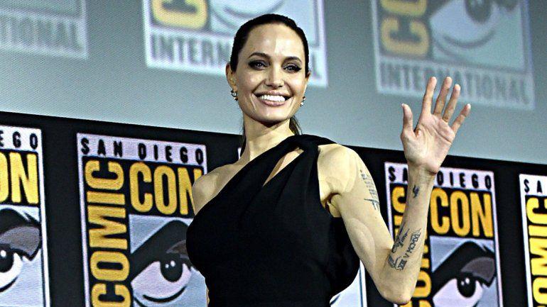 Angelina Jolie se suma a Marvel  con The Eternals