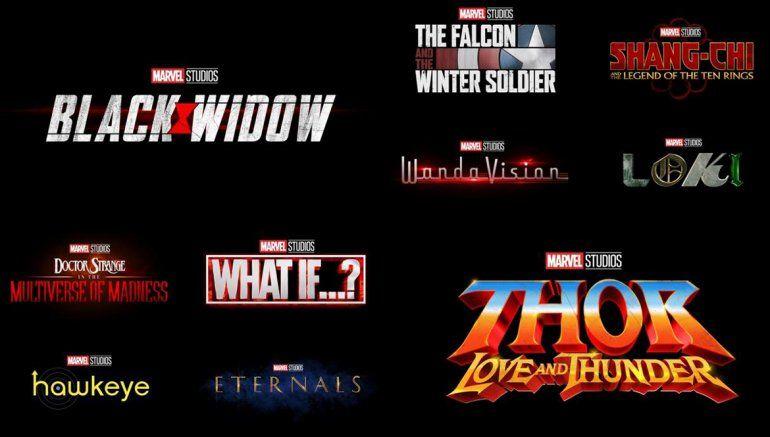 Cuáles son las películas de la fase cuatro de Marvel