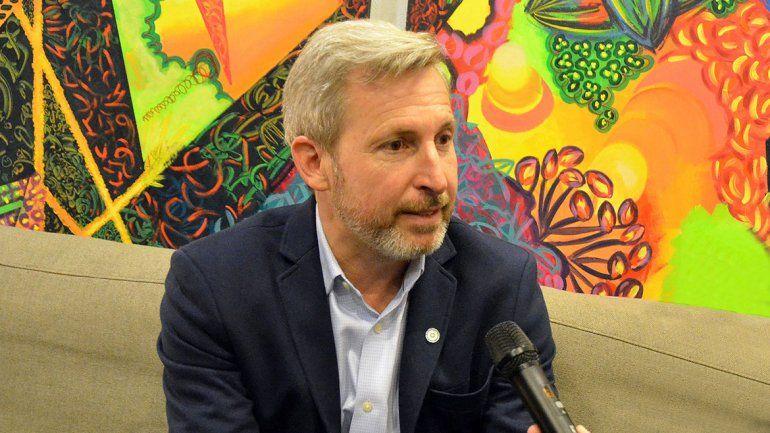 Frigerio: Plantearemos una nueva ley de coparticipación