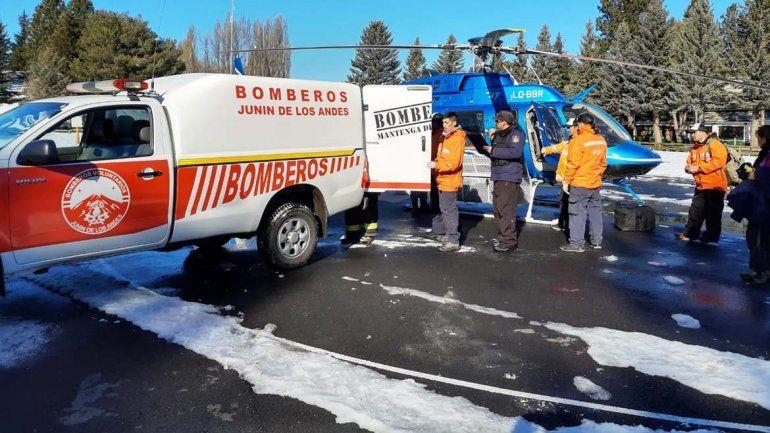 Encontraron bajo la nieve el cuerpo de una mujer que estaba desaparecida