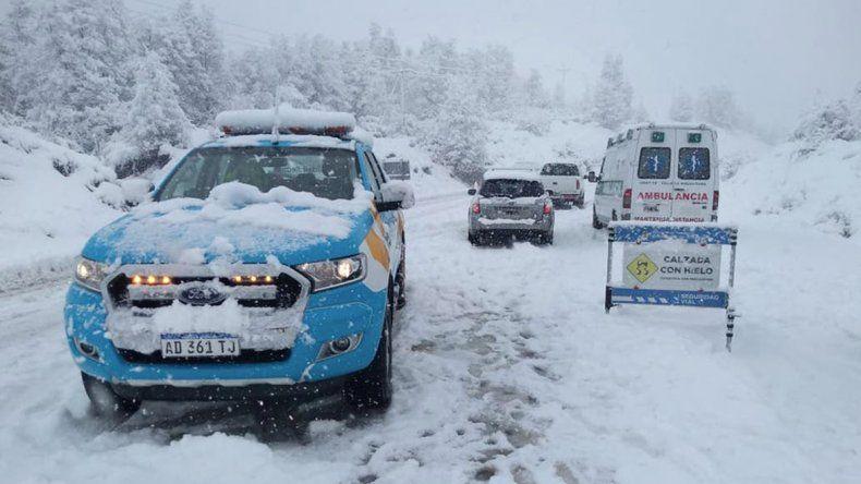 En Villa La Angostura, nevó un 140% más que la media histórica