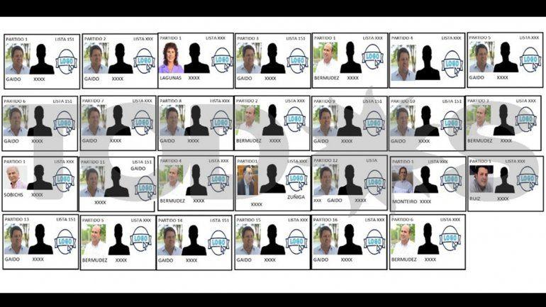 Elecciones municipales: piden que no se repitan candidatos en la pantalla