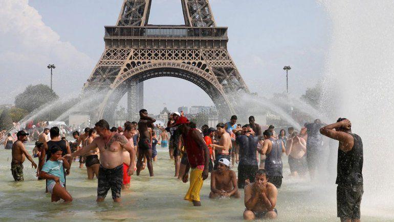 Europa está que arde: desde 1947 no hacía tanto calor en París