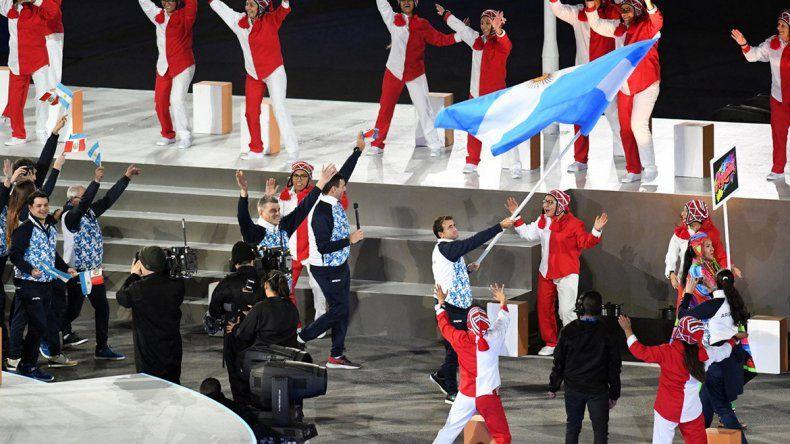 Los Juegos se abrieron con una colorida ceremonia