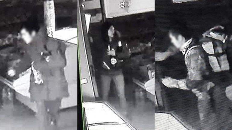 Robaron 13 mil pesos en bebidas de un conocido local de Junín y fueron escrachados