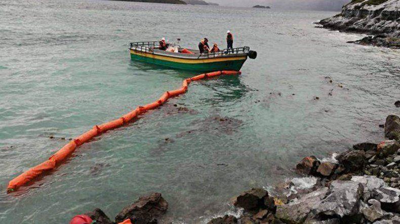 Chile: se derraman unos 40.000 litros de petróleo diesel