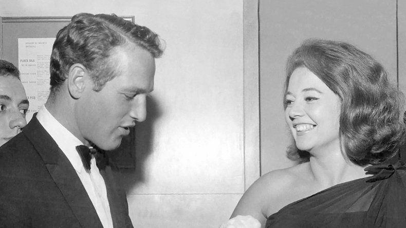 Pinky reveló su intenso romance con Paul Newman