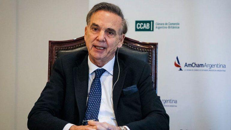 Pichetto cruzó duro a Fernández por lo de Venezuela