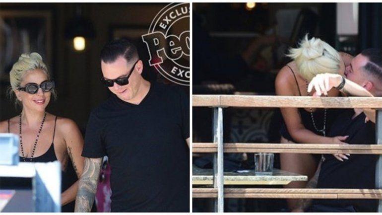 Engaño mundial: Lady Gaga se mostró con su verdadero novio