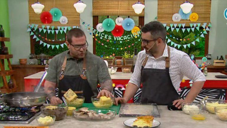 Ezequiel González de Saurus dio una clase magistral de hongos patagónicos en Cocineros Argentinos