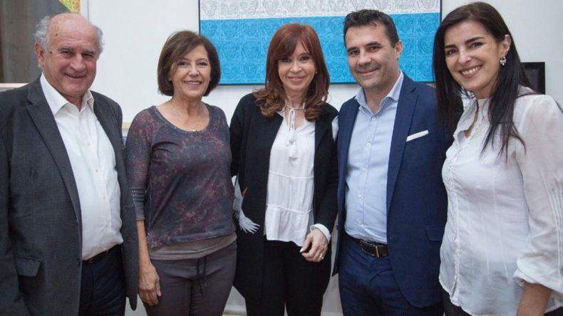 Cristina Kirchner recibió a los candidatos neuquinos al Congreso