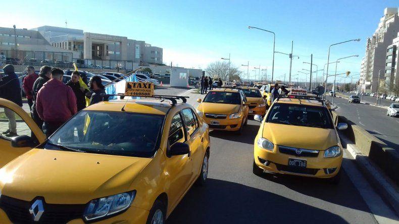 Desde el municipio esperan instalar las cámaras de seguridad en taxis para enero del 2020