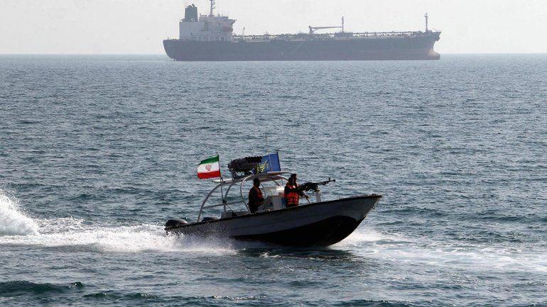 Irán capturó a otro barco extranjero por contrabando