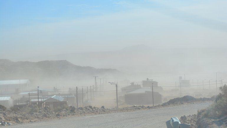 Rincón de los Sauces: el viento generó serios inconvenientes