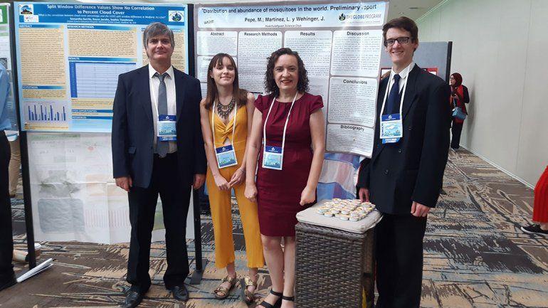 Aprenden ciencia en Junín y los premian en Estados Unidos