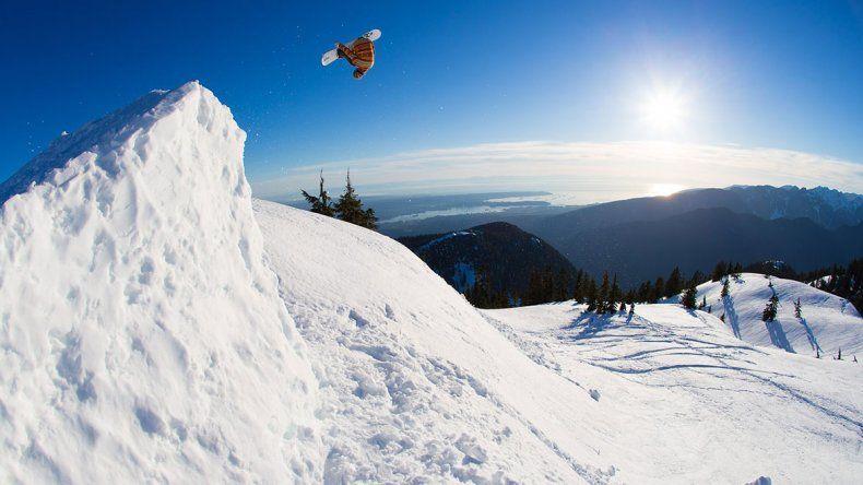 El mejor snowboarder del mundo filmará una serie en Chapelco