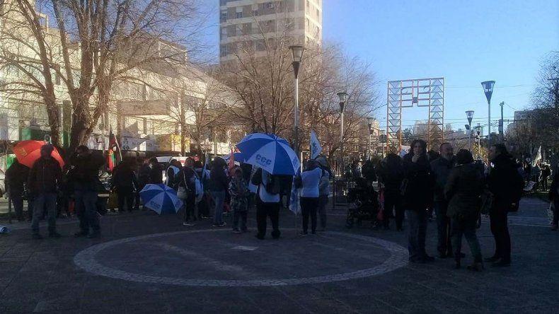 Una manifestación complicó el tránsito en el centro