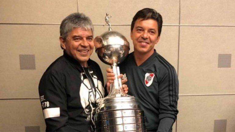 El papá del Muñeco Gallardo: Marcelo quiere volver a jugar contra Boca