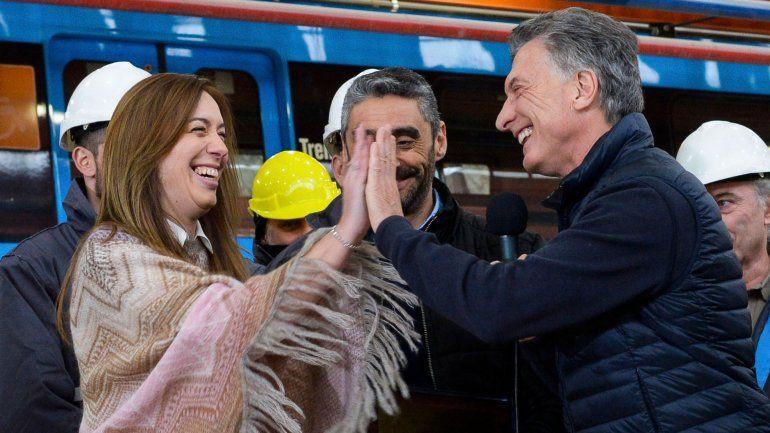 Macri y su singular emoji para referirse a Vidal en redes sociales
