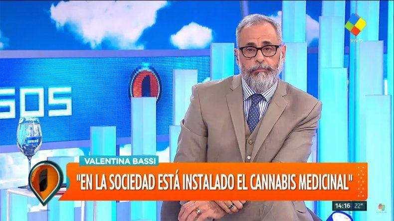 Jorge Rial confesó que usa aceite de marihuana por un mal en su espalda