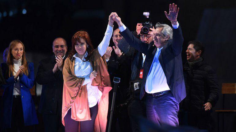 La fórmula Fernández-Fernández cerró campaña y prometió una Argentina federal