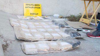 los lazos de la banda narco que cayo con 125 kilos de droga