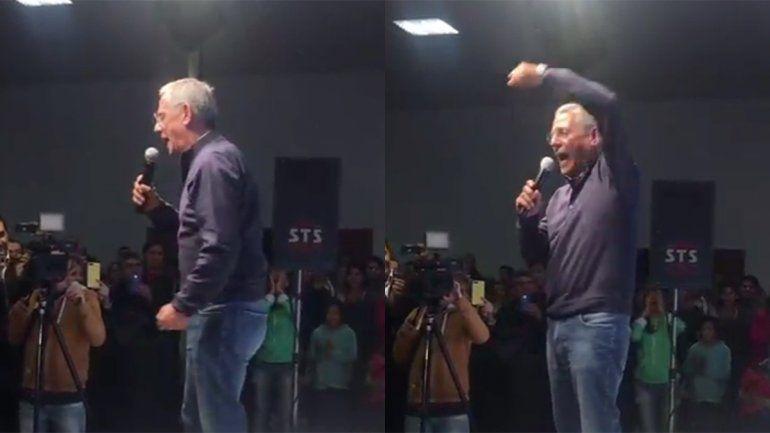 A lo Macri, Pechi cerró su campaña en medio de gritos y euforia