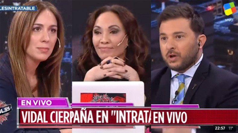 Vidal tuvo otro round con Brancatelli y Ernestina Pais logró que hiciera un mea culpa