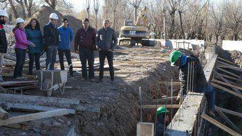 a fin de mes habilitan la primera parte de la obra del arroyo duran