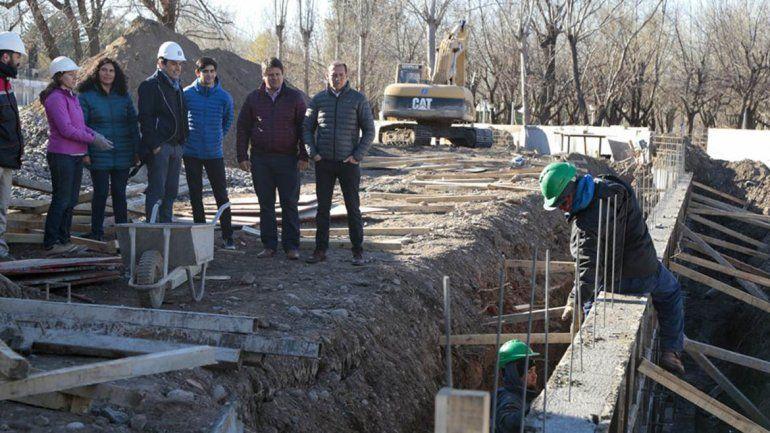 A fin de mes habilitan la primera parte de la obra del arroyo Durán