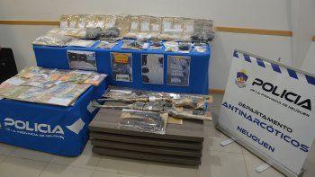 megabanda narco traia drogas en colectivos de linea y las revendia