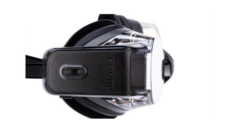 Mirá las antiparras de realidad aumentada para nadadores