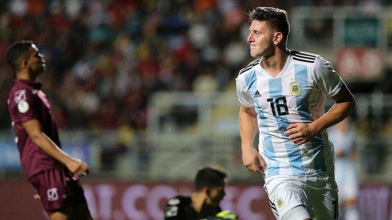 Tocalli: Gaich puede ser el 9 del futuro en la Selección
