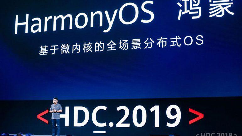 China ya presentó su sistema operativo que remplazará a Android