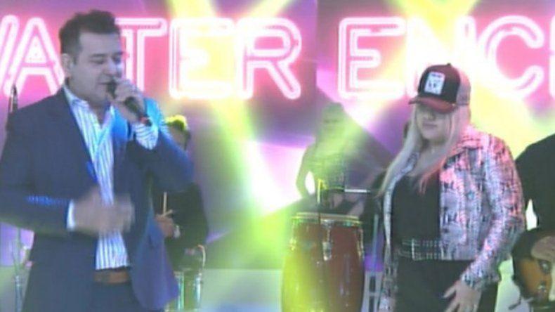 Video: a pura cumbia, More Rial debutó en la tele