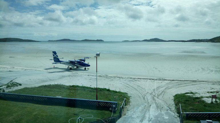 Escocia: la pista de un aeródromo desaparece cada día