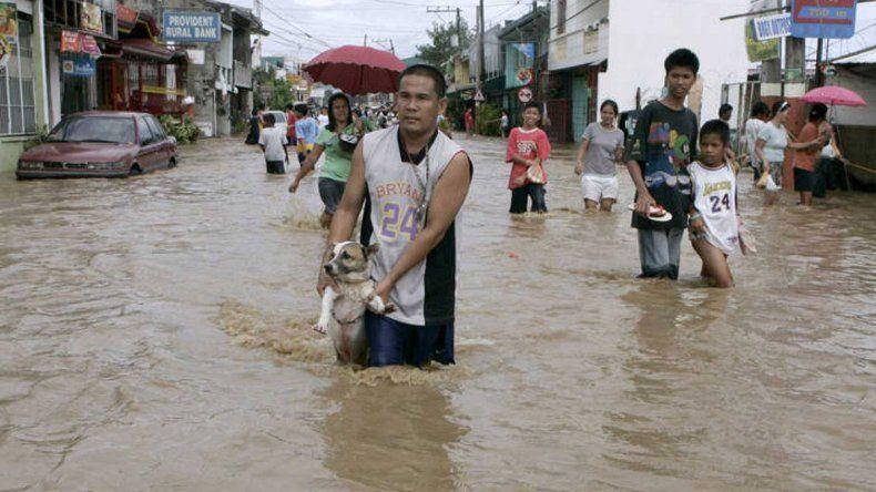 Un increíble tifón causa un desastre en la zona de China