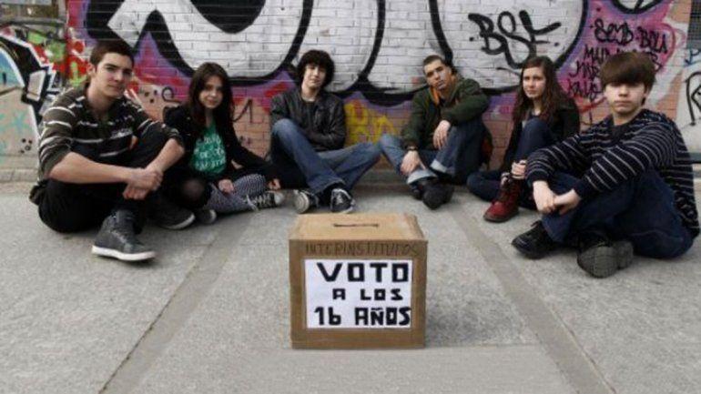 Los pibes de 16 años representan el 2,8% del padrón electoral