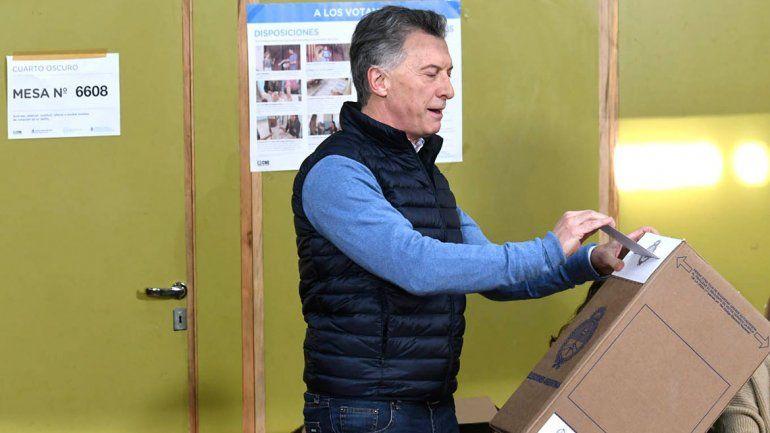 Macri tras su paso por la urnas: Es una elección muy importante