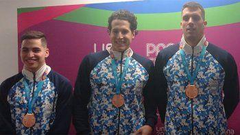 agustin hernandez fue clave para sumarle otra medalla a argentina