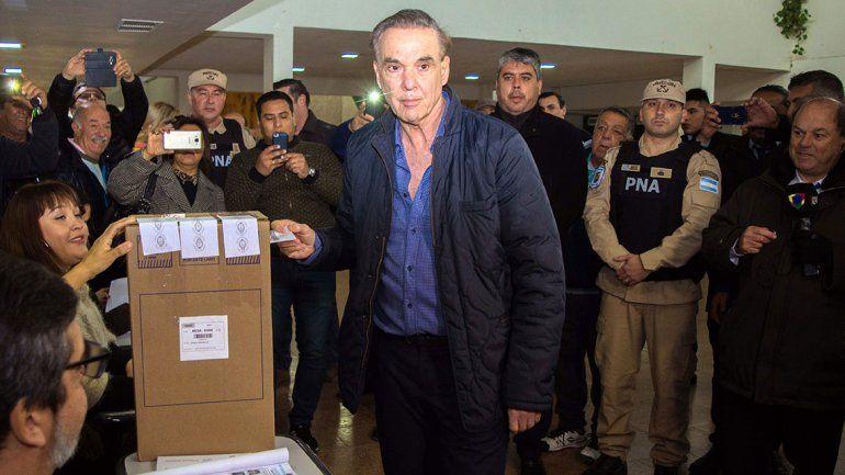Pichetto votó en Sierra Grande: Es importante que la gente elija con libertad