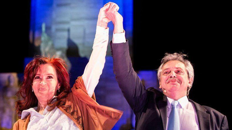 Aplastante: la fórmula Fernández-Fernández se impuso con el 47% y le sacó 15 a Macri-Pichetto