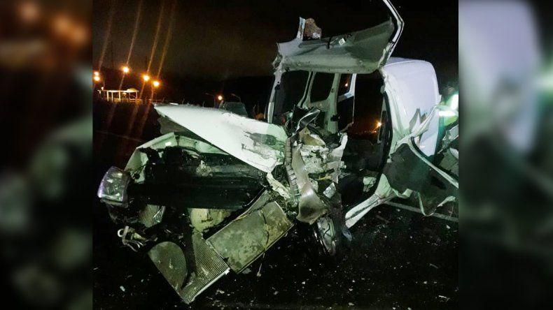 Un joven murió en un choque frontal en la Autovía Norte camino al Tercer Puente