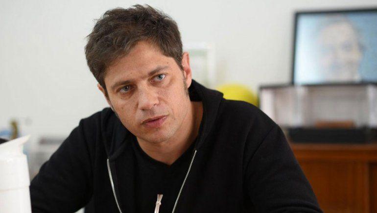 Kicillof le pidió responsabilidad al Gobierno