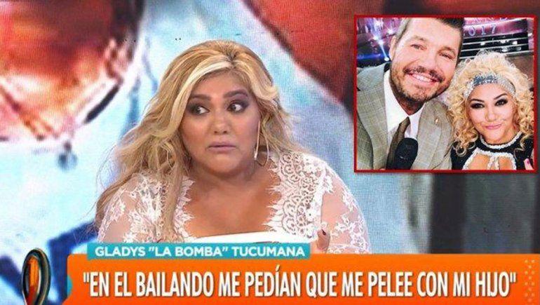 La Bomba le dijo en vivo  a su novio que quiere separarse