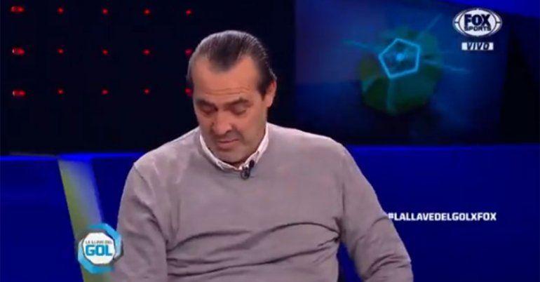 La emoción de Sergio Batista al enterarse de la muerte del Tata Brown en TV
