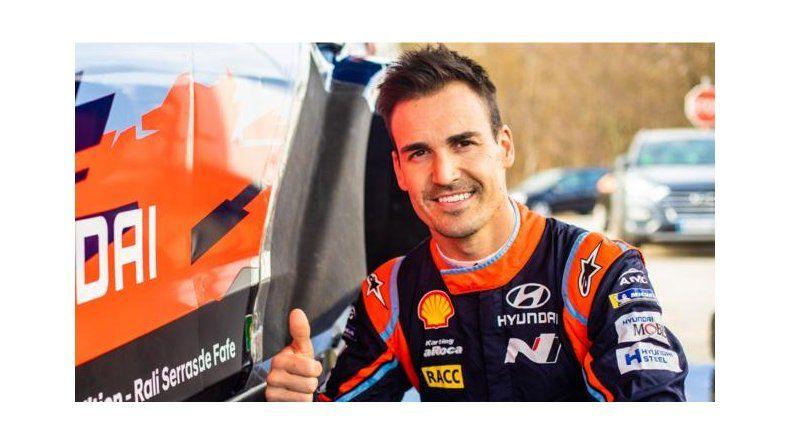 Dani Sordo correrá como invitado en el Rally de Neuquén