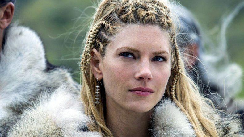 Lagertha, la rubia de Vikingos, a pleno con el hit de Jimena Barón