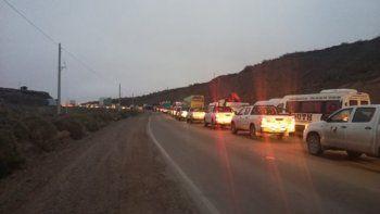 vecinos de anelo volveran a las rutas en reclamo de seguridad vial