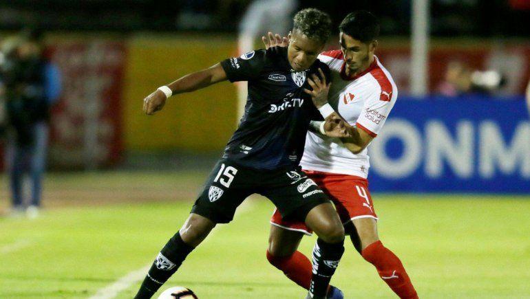 Cayó el Rojo en Quito y se quedó afuera de la Copa